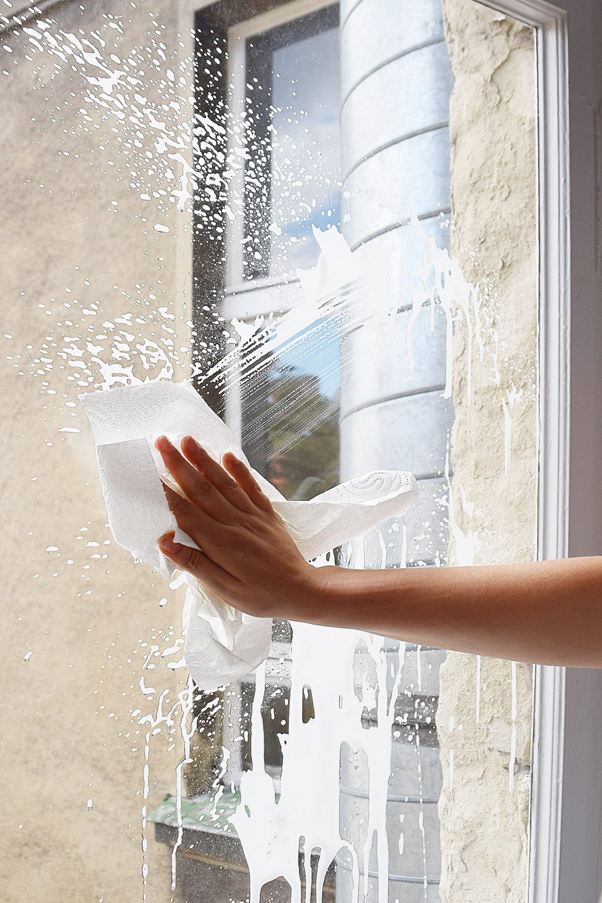 DIY Frosted Window