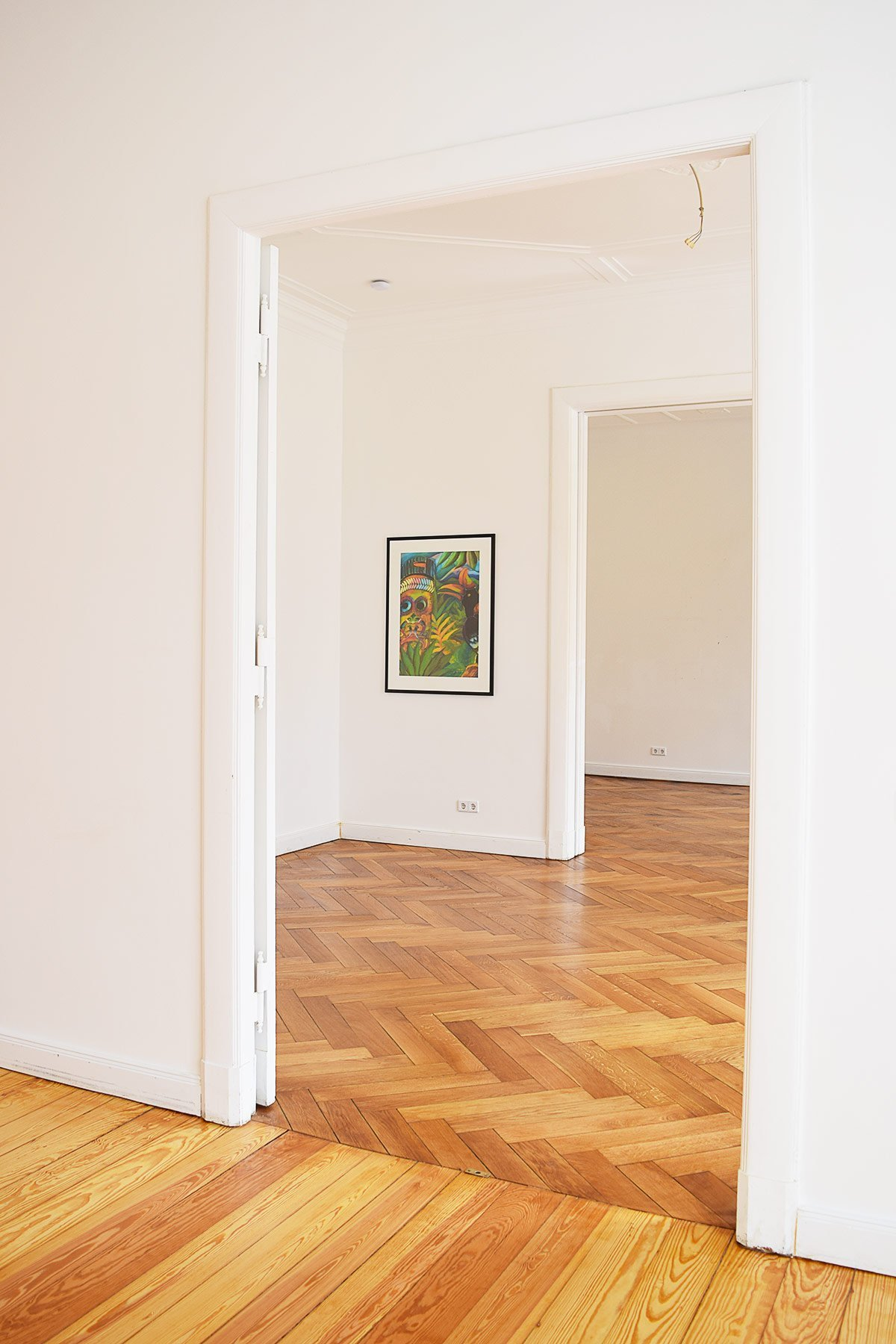 Oiled Herringbone Parquet Floor | Little House On The Corner