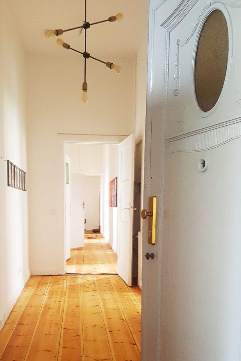 Hallway Progress | Little House On The Corner