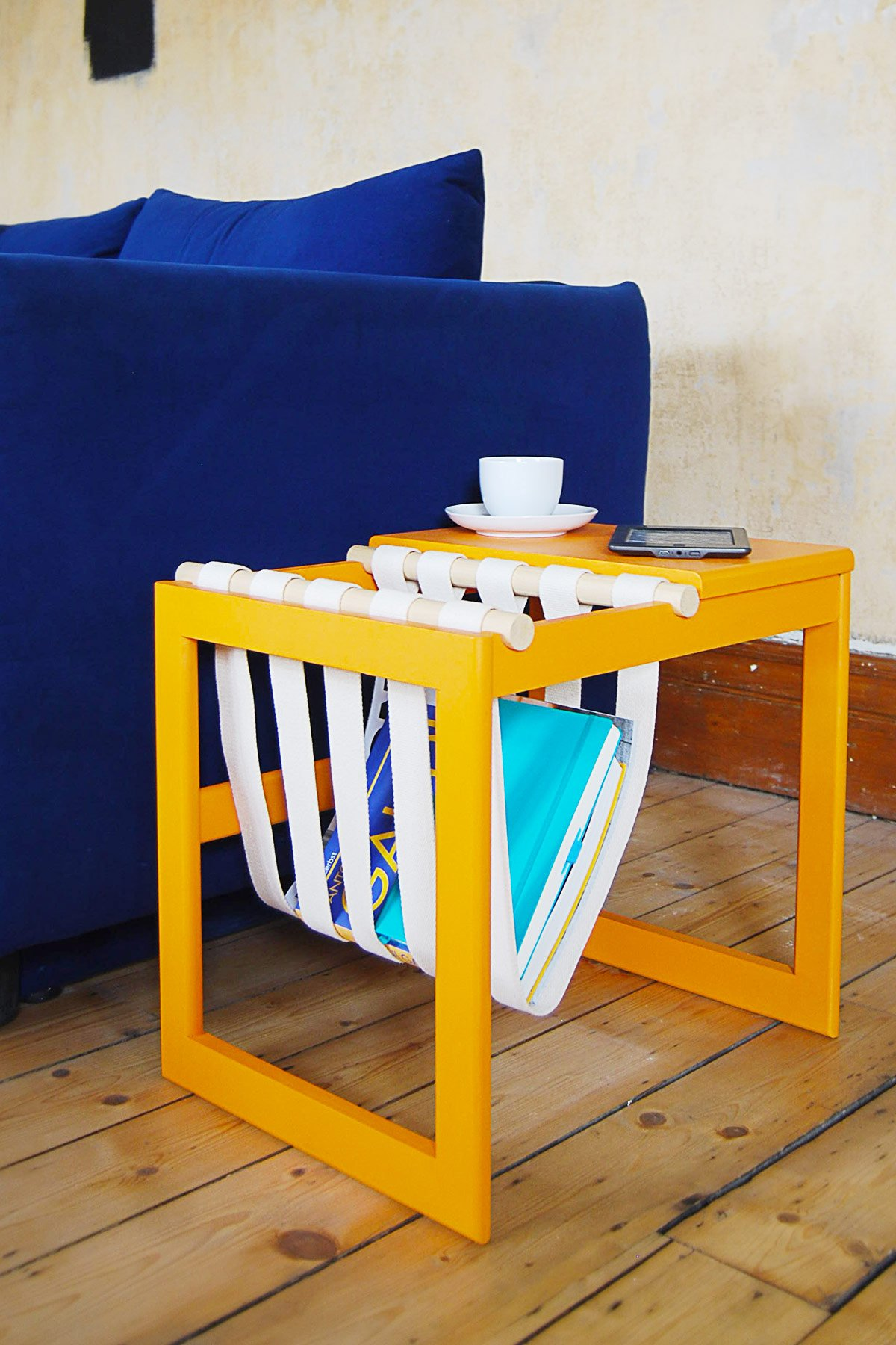 DIY Magazine Holder | Little House On The Corner