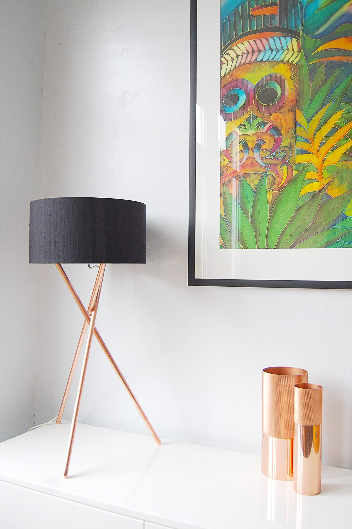DIY Copper Lamp | Little House On The Corner