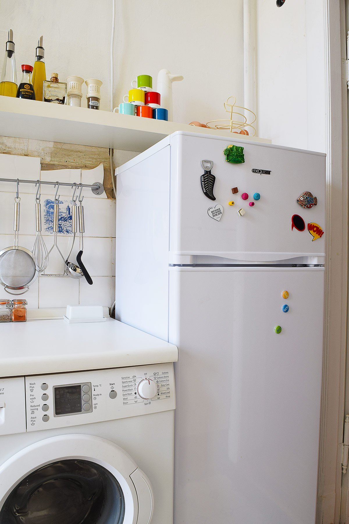 How To Paint A Fridge | Little House On The Corner