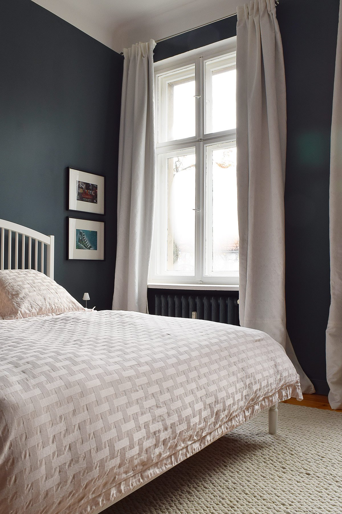 Master Bedroom - Inchyra Blue | Little House On The Corner