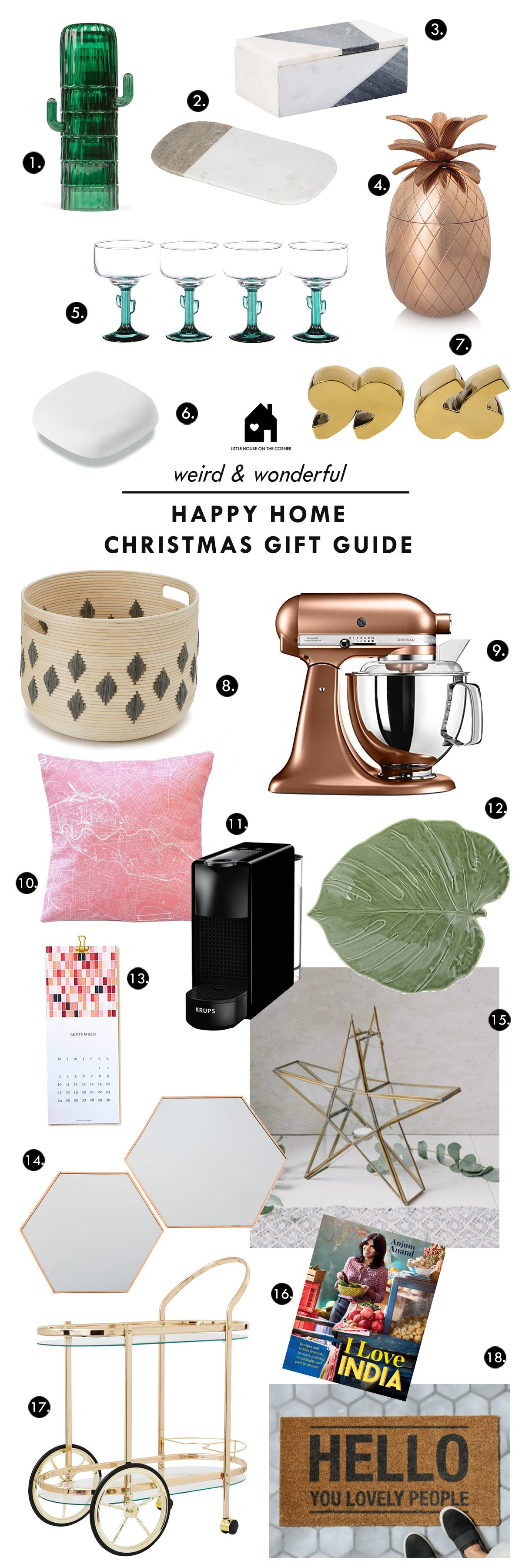 Home Christmas Gift Guide - Little House On The Corner