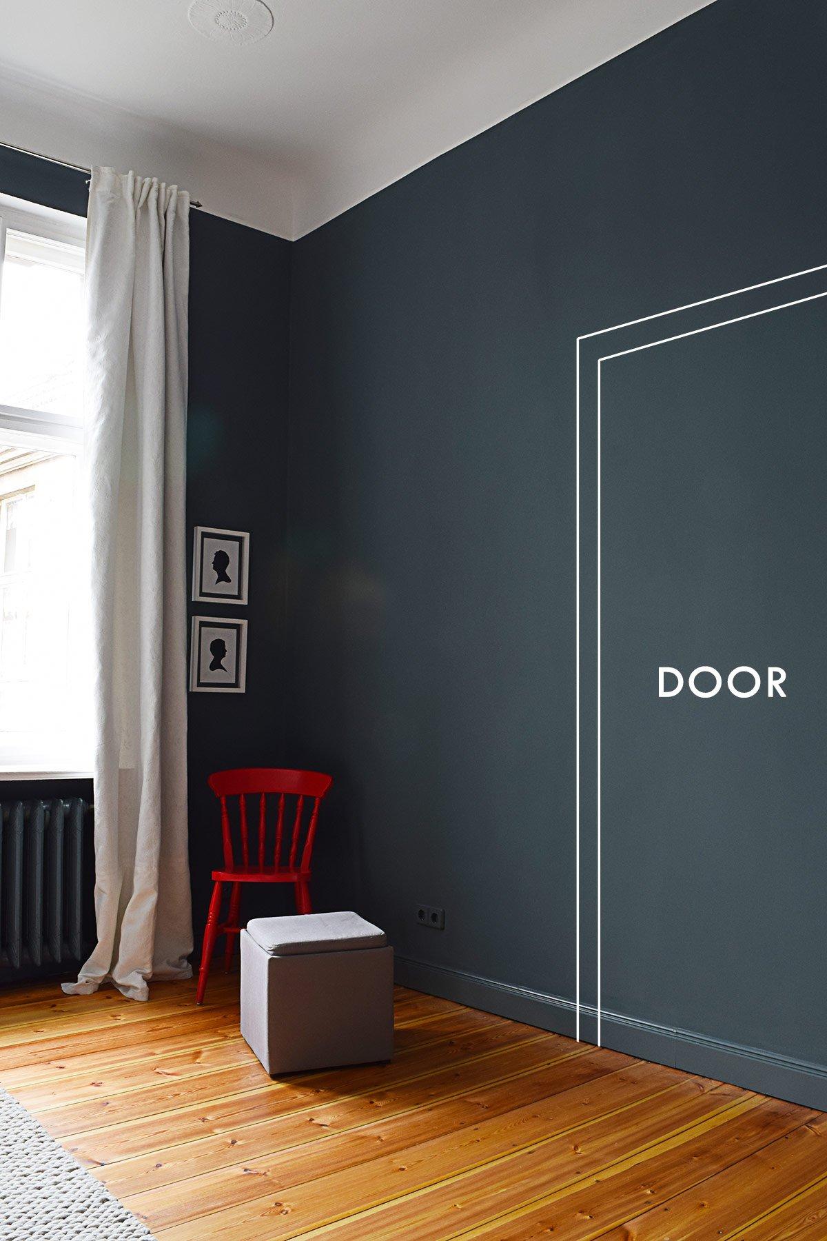 Master Bedroom - Door Opening To Dressing Room | Little House On The Corner