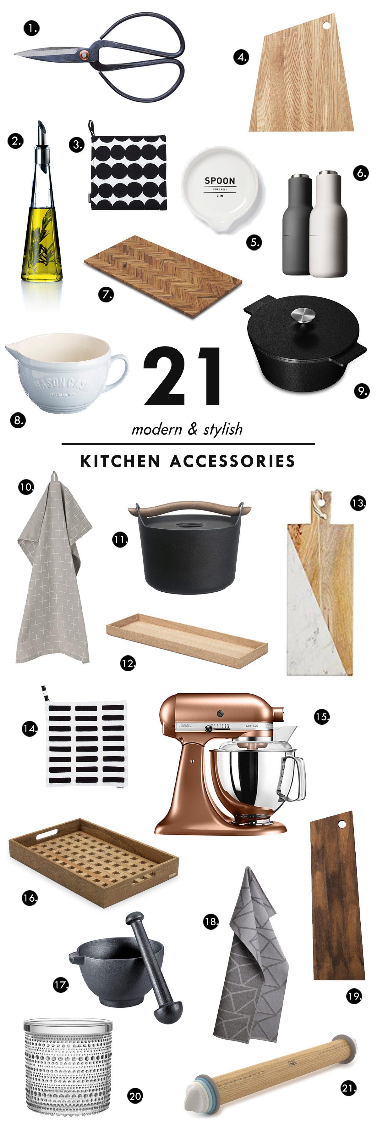Modern and Stylish Kitchen Accessories