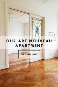 Take The Tour | Our Art Nouveau Apartment | Little House On The Corner