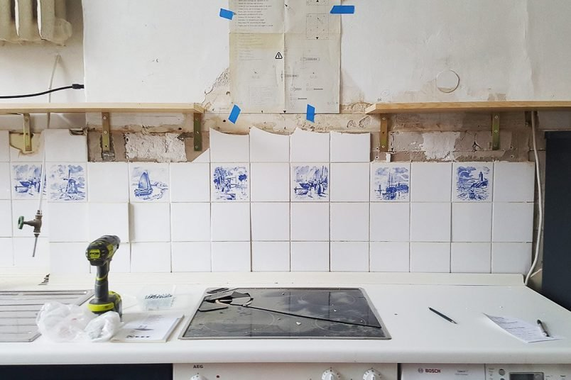 Kitchen Makeover - Smashed Electrical Hob | Little House On The Corner