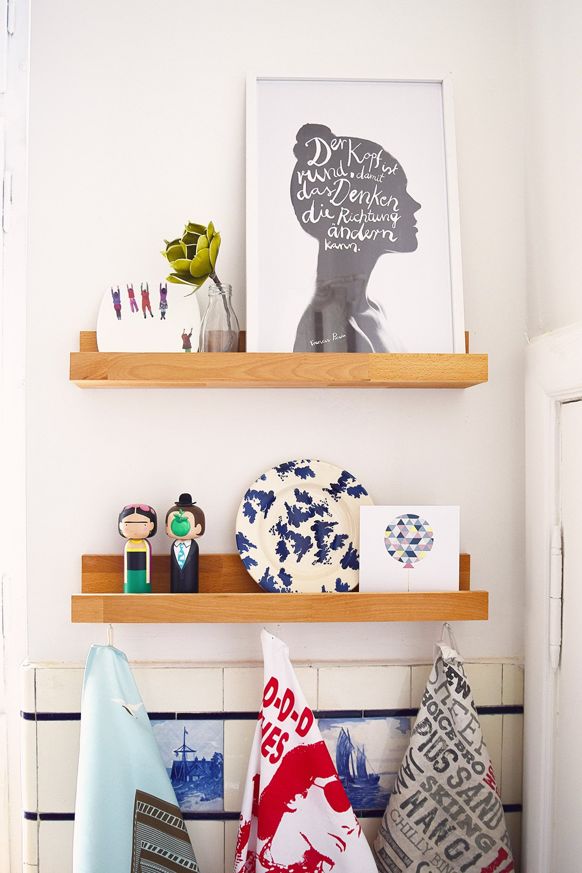 DIY Picture Shelf | Little House On The Corner