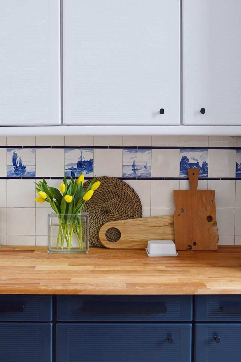Kitchen Makeover with Farrow & Ball - Railings + Dimpse   Little House On The Corner