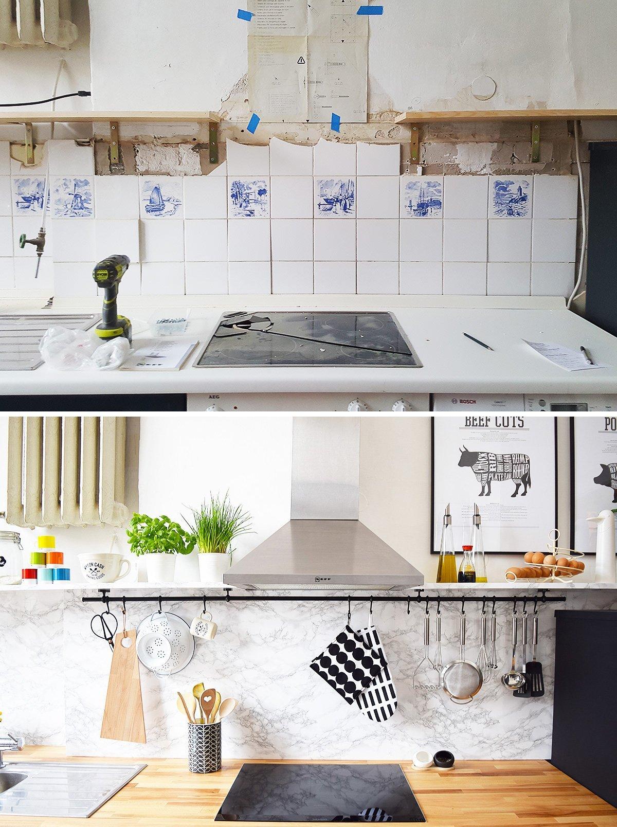 Kitchen Makeover - New Hob - Little House On The Corner