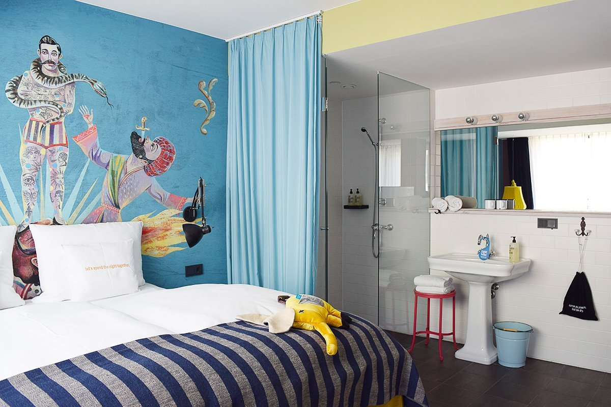 25Hours Hotel Vienna - Room - Little House On The Corner