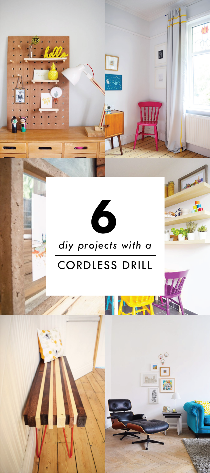 6 DIY Projects With A Cordless Drill