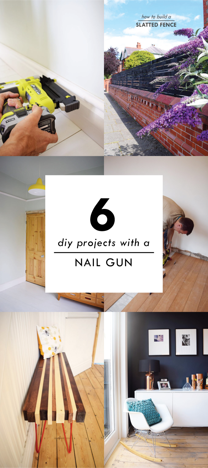 6 DIY Projects With A Nail Gun