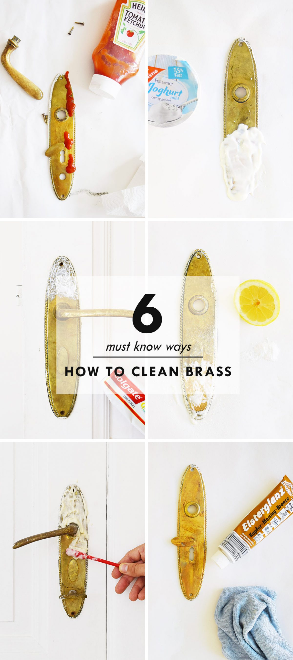 6 Ways How To Clean Brass