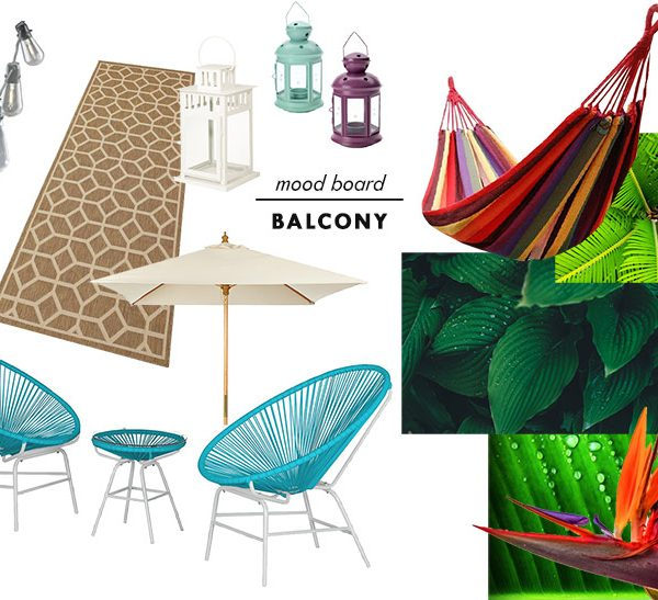 Balcony Mood Board | Little House On The Corner