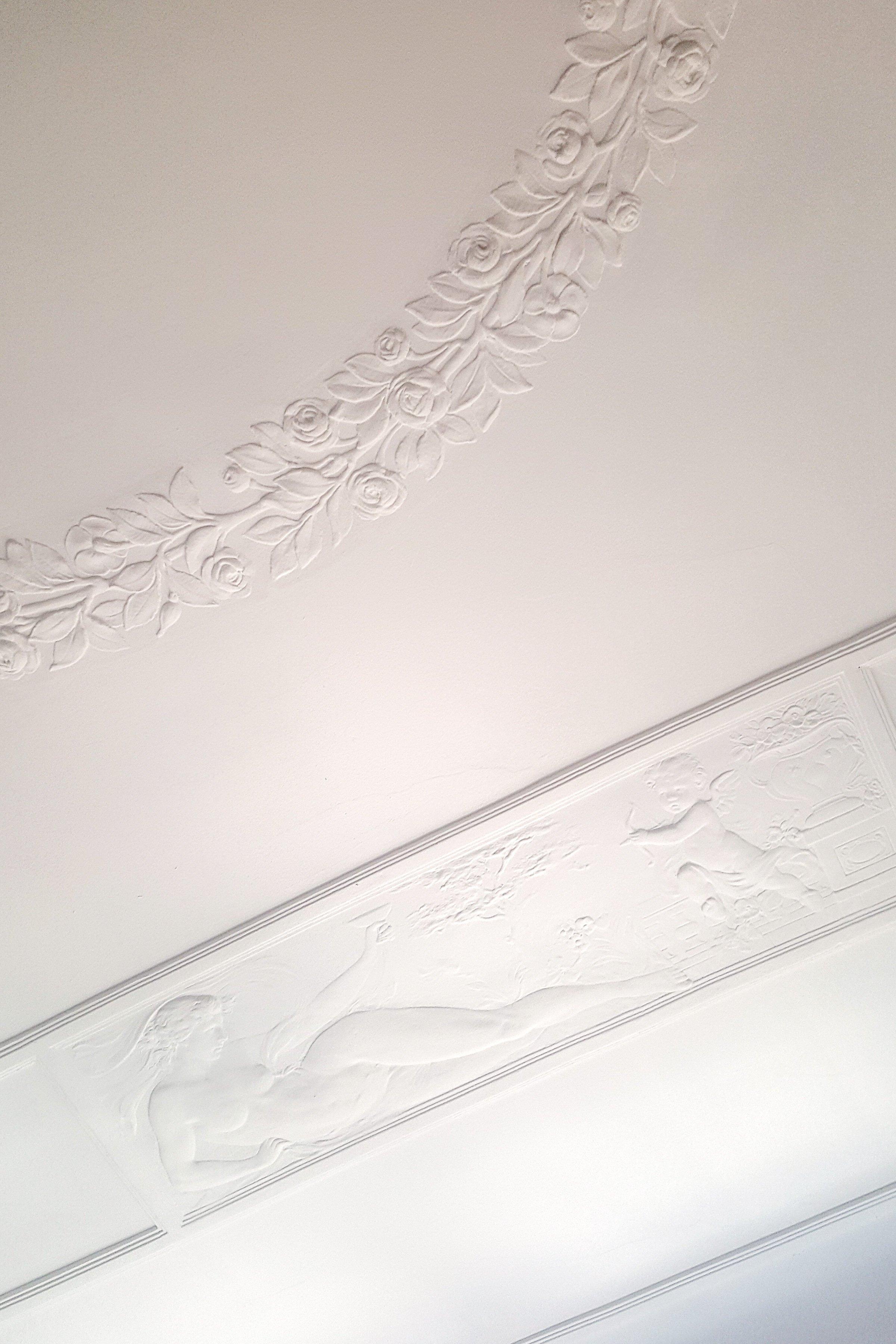 Plaster Ceiling Living Room | Little House On The Corner
