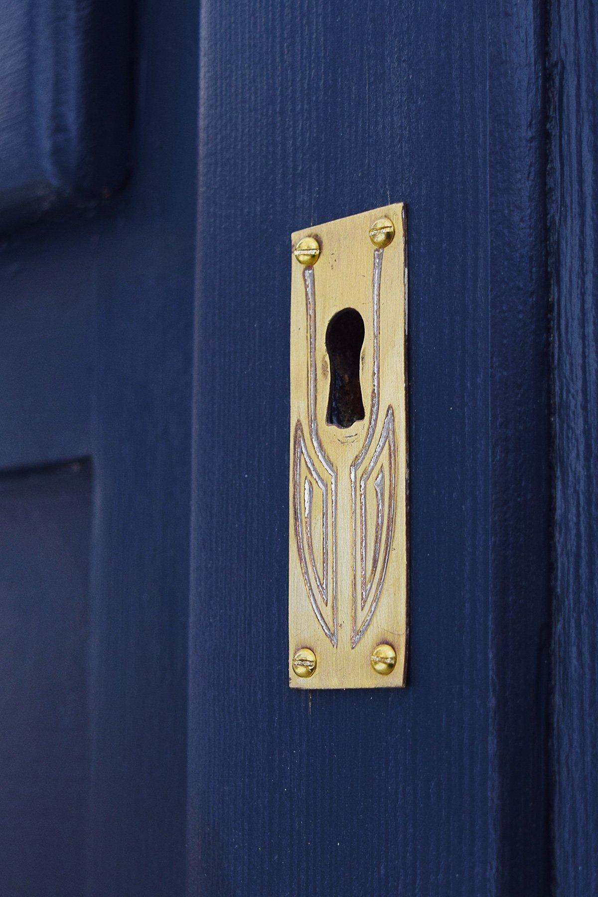 Antique Fridge - Brass Plate | Little House On The Corner