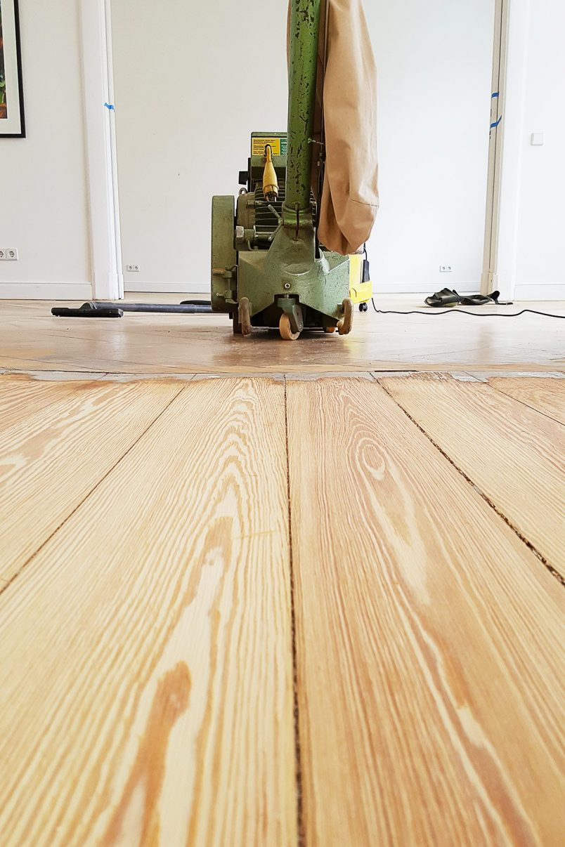 5 Floor Sanding Mistakes And How To Avoid Them | Little House On The Corner