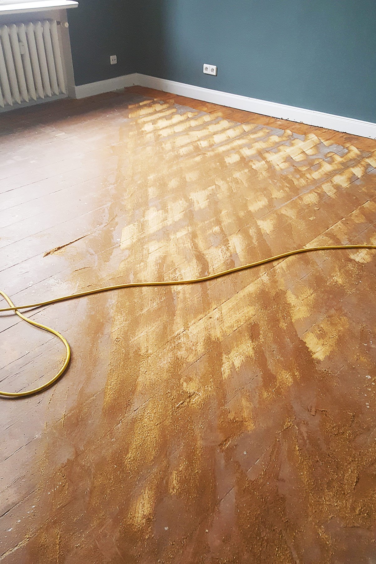 5 Floor Sanding Mistakes And How To Avoid Them - Sand Diagonally | Little House On The Corner