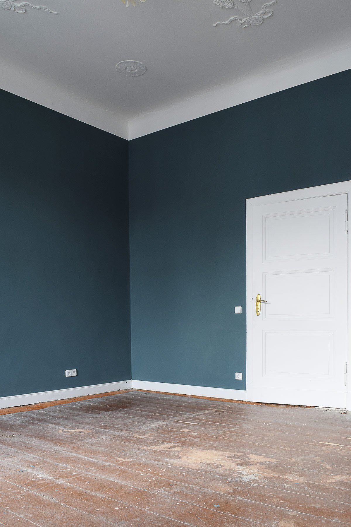 Bedroom Inchyra Blue In Progress | Little House On The Corner
