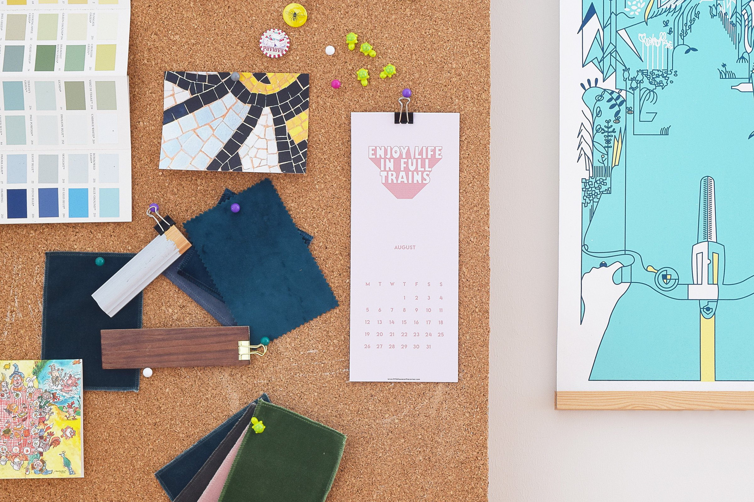 Free Printable 2019 Calendar | Little House On The Corner