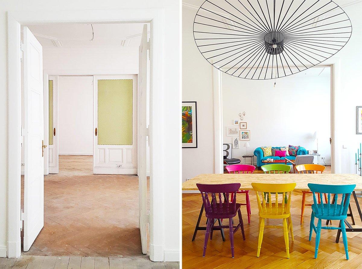 Dining Room Before & Progress | Little House On The Corner