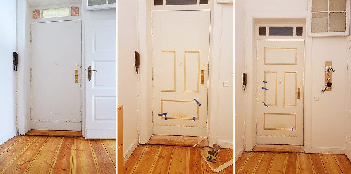 Door Progress | Little House On The Corner