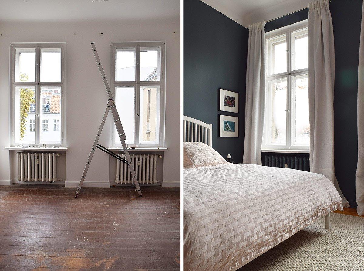 Master Bedroom Before & Progress | Little House On The Corner