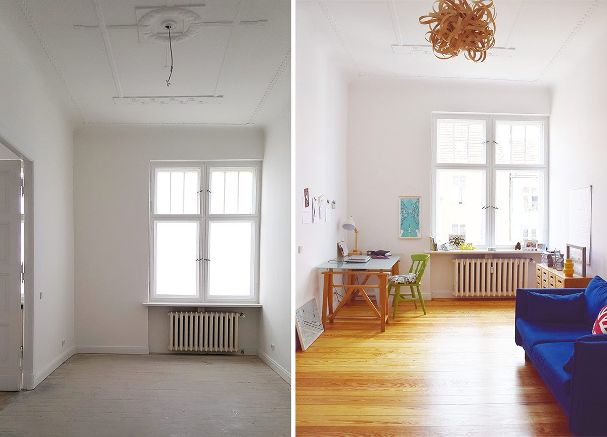 Office Before & Progress | Little House On The Corner