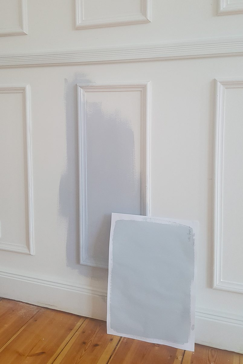What To Do When You've Chosen The Wrong Wall Colour | Little House On The Corner