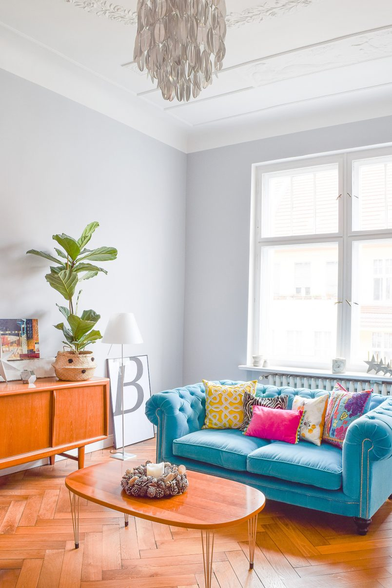 Painted Living Room | Little House On The Corner
