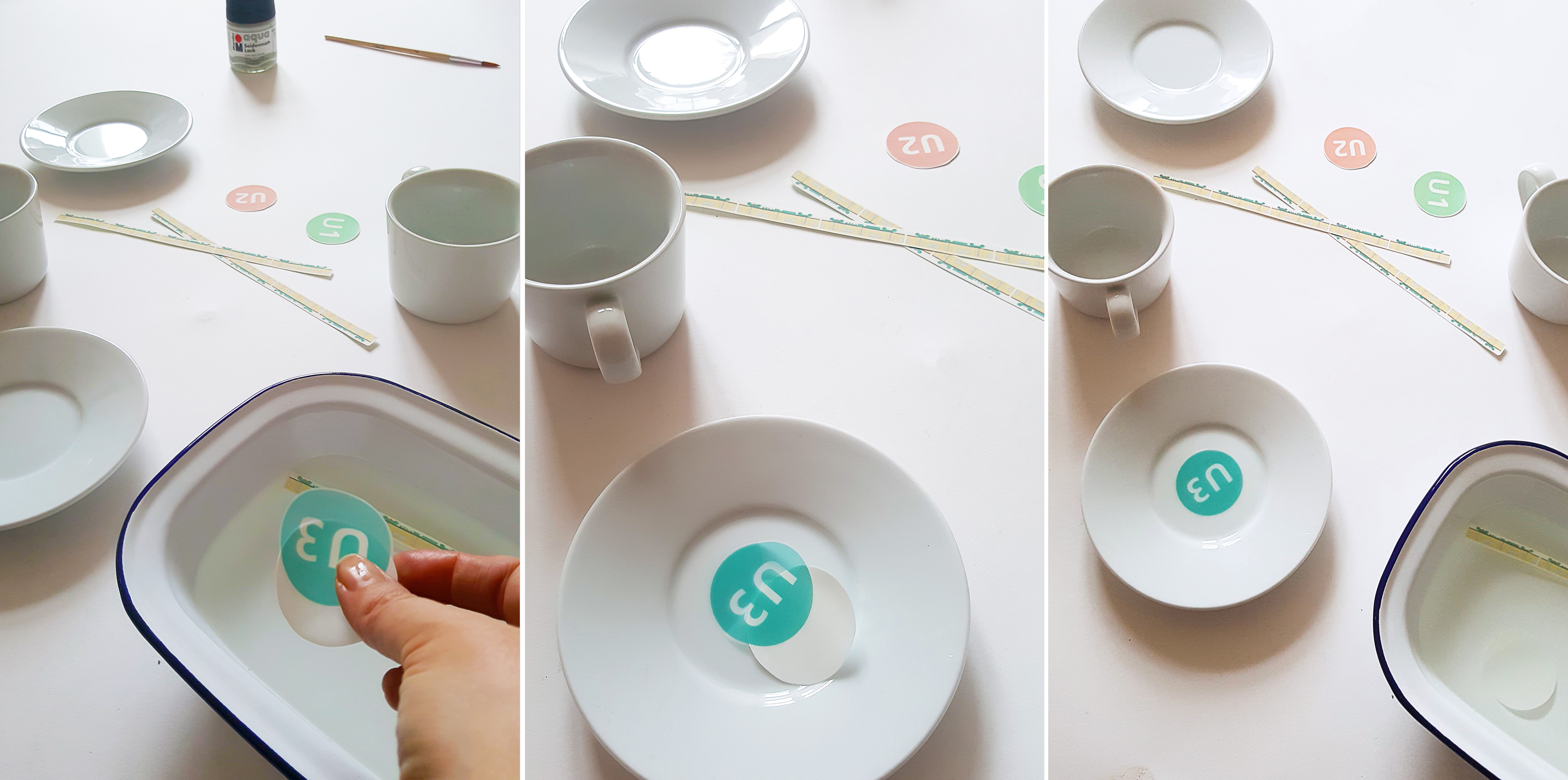 DIY Personalised Coffee Cups | Little House On The Corner