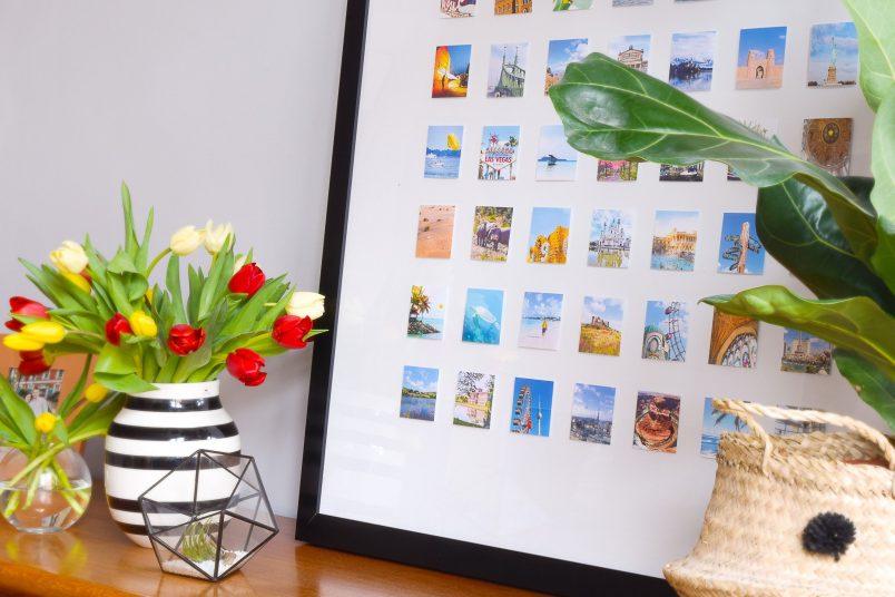 DIY Framed Instagram Photo Display | Little House On The Corner