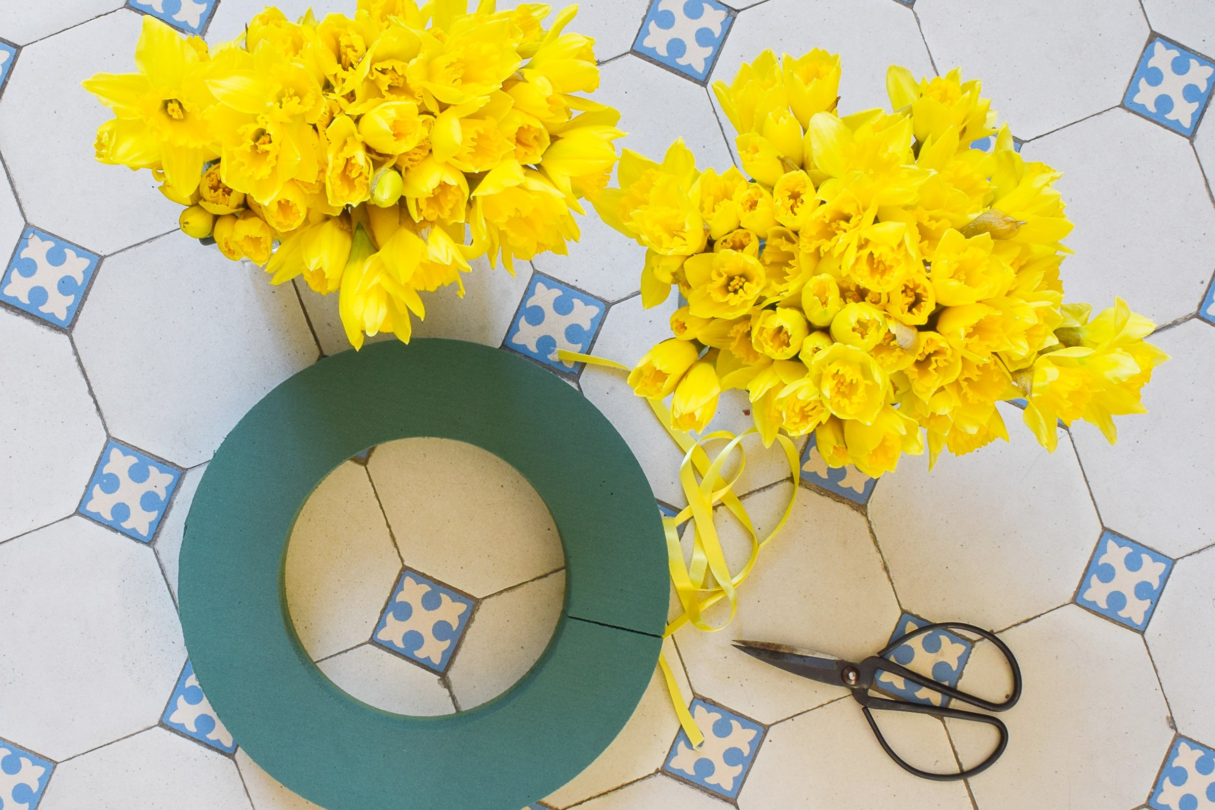 DIY Spring Wreath | Little House On The Corner