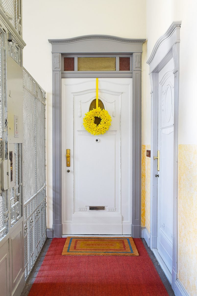 Front Door Makeover   Ammonite & Manor House Grey by Farrow & Ball   Little House On The Corner