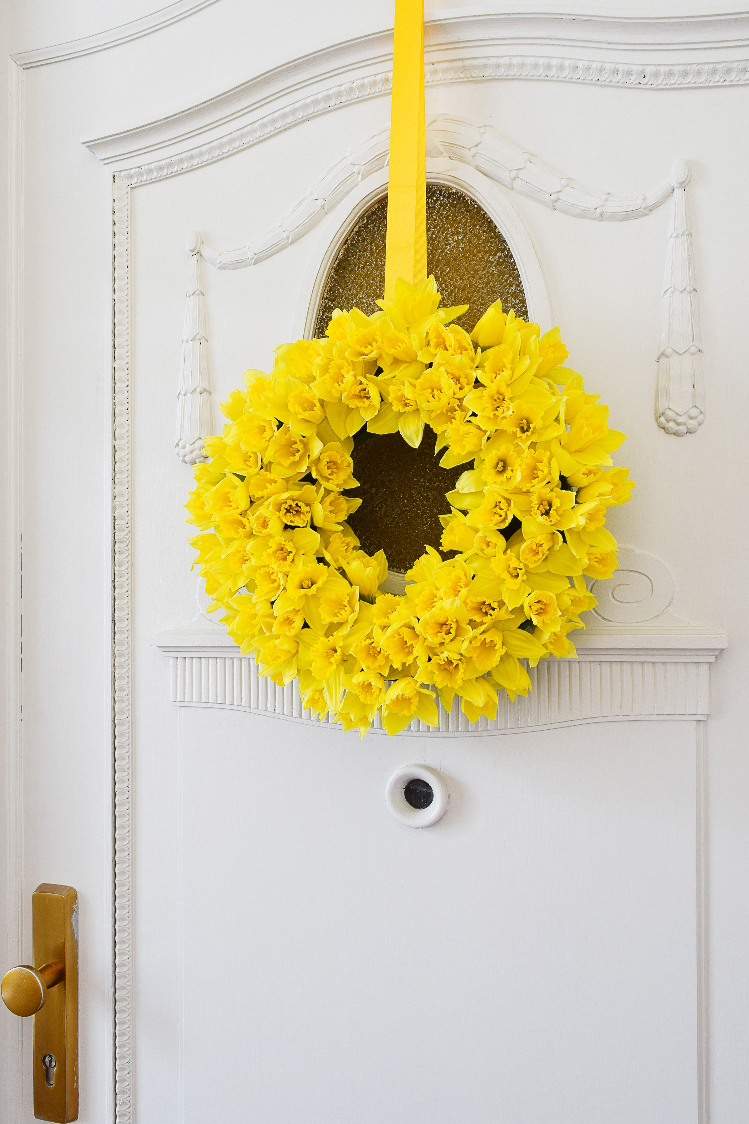 DIY Spring Wreath | Little House On The Corner