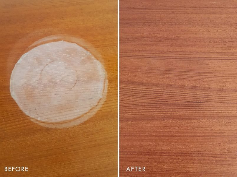 How To Remove A Watermark - Before & After | Little House On The Corner