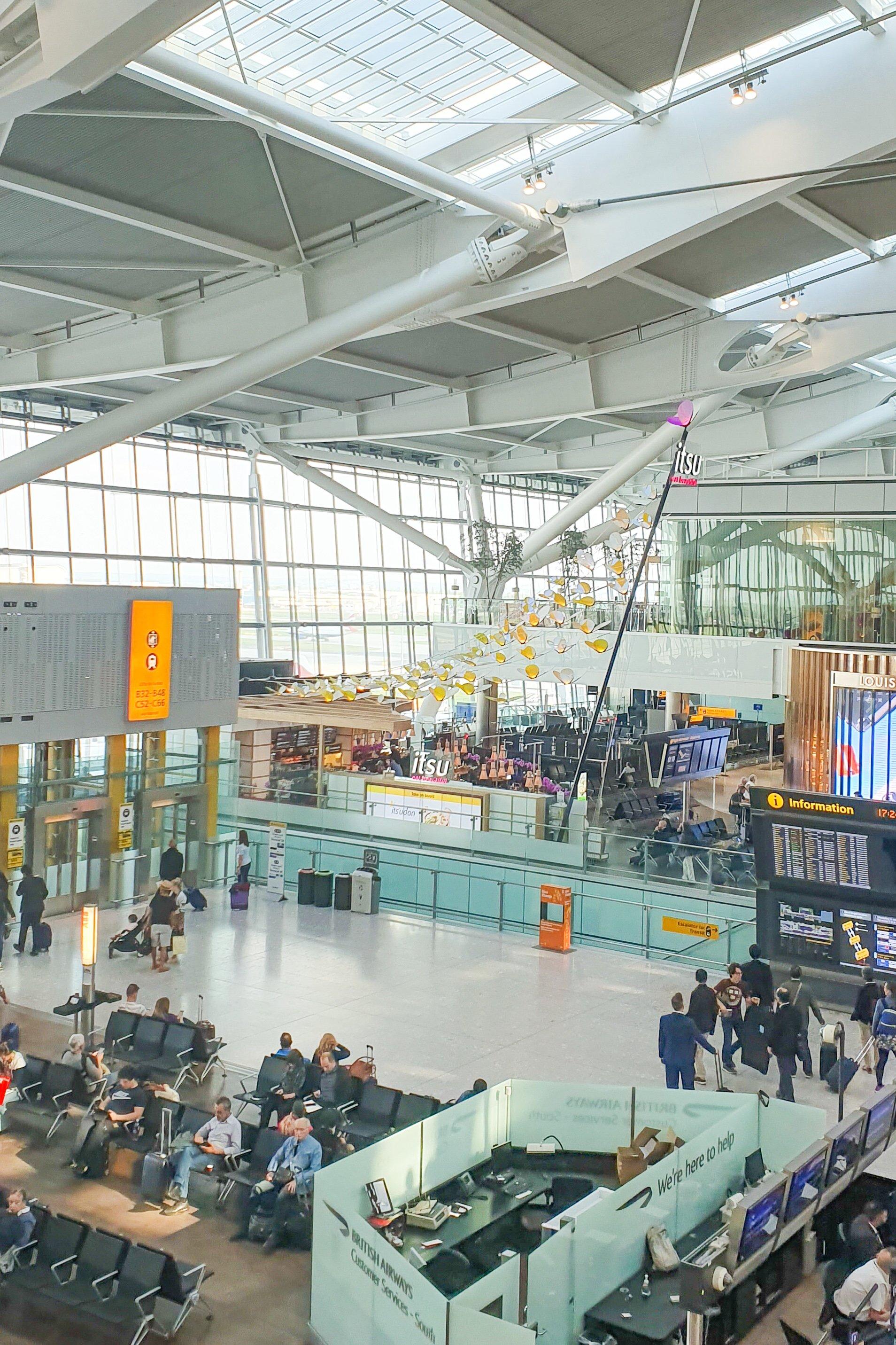 Heathrow Terminal 5 | Little House On The Corner