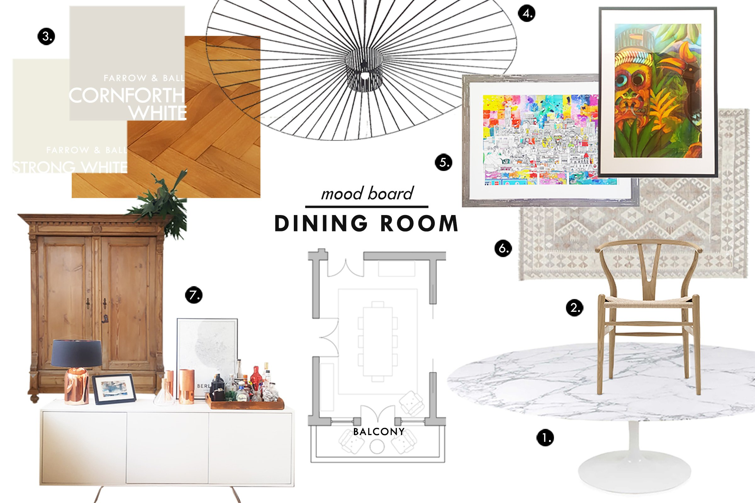 Dining Room Mood Board | Little House On The Corner