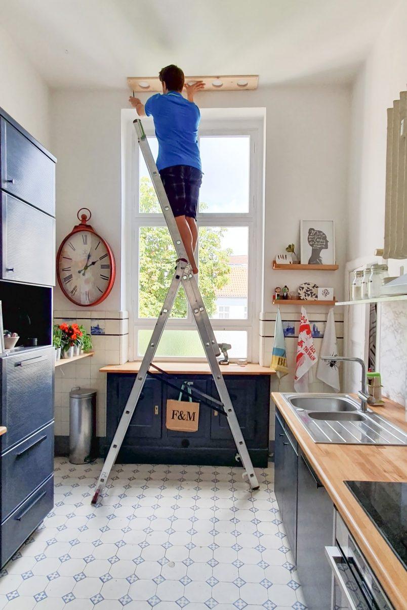 DIY Hanging Herb Garden - Hang | Little House On The Corner