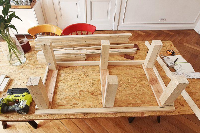 DIY Garden Bench With Hidden Storage | Little House On The Corner