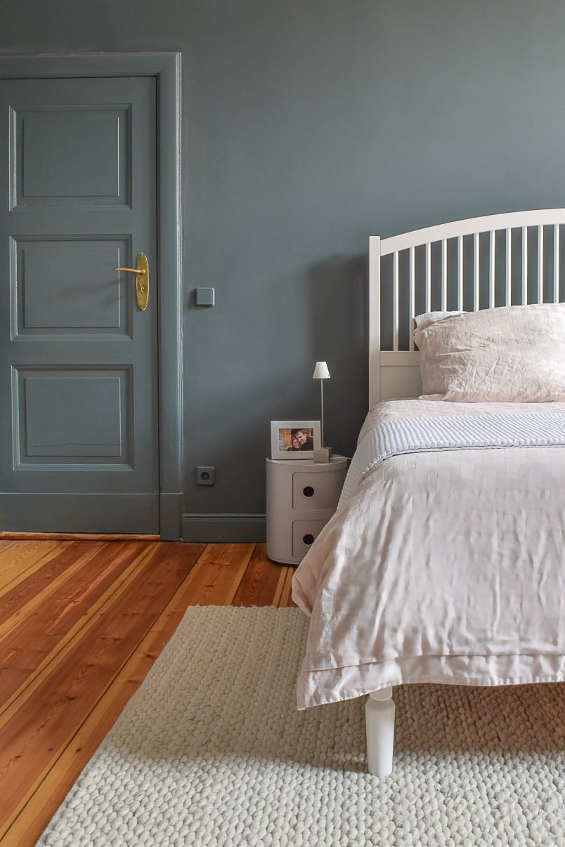 Master Bedroom Makeover   Farrow & Ball Inchyra Blue   Little House On The Corner