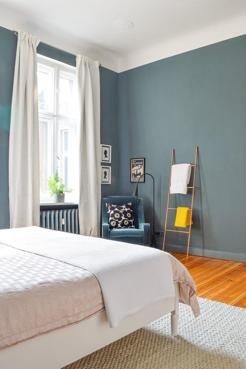 Master Bedroom Makeover   Inchyra Blue   Little House On The Corner