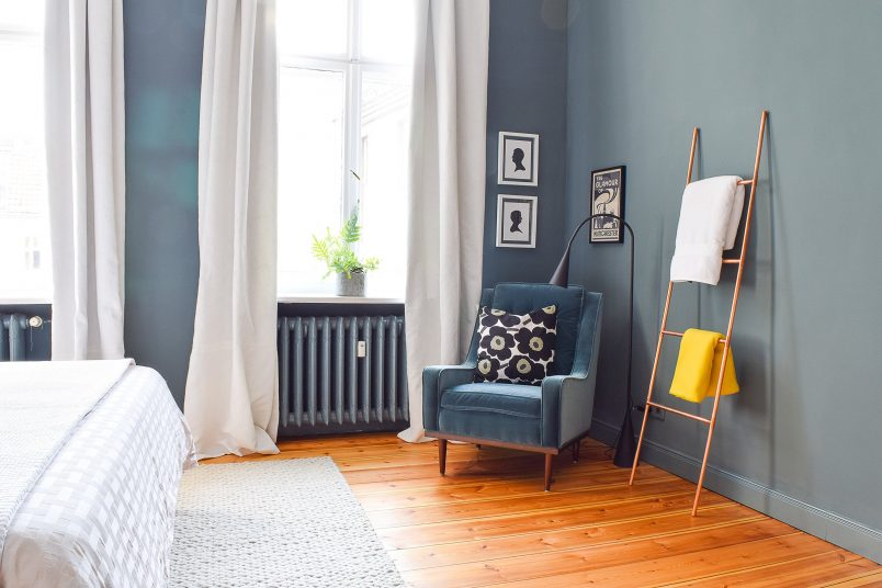 DIY Copper Towel Ladder | Little House On The Corner