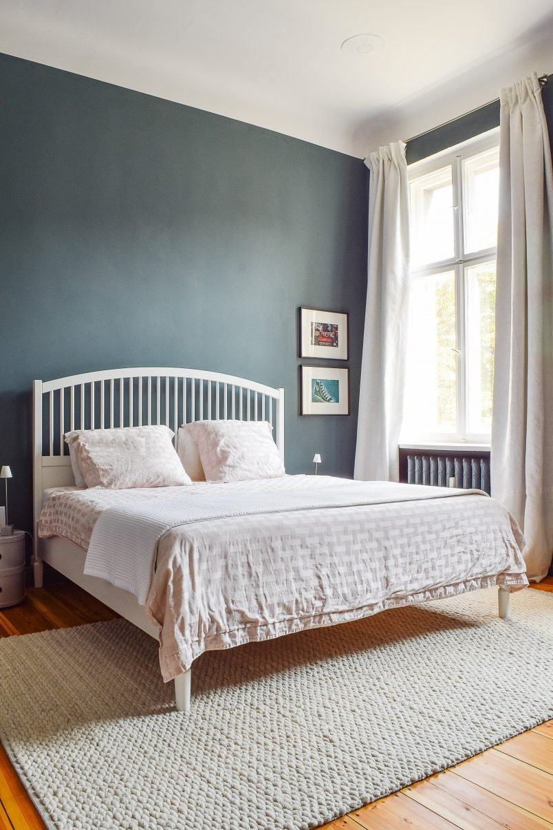Master Bedroom   Inchyra Blue   Little House On The Corner