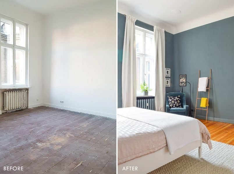 Master Bedroom - Before and After | Little House On The Corner