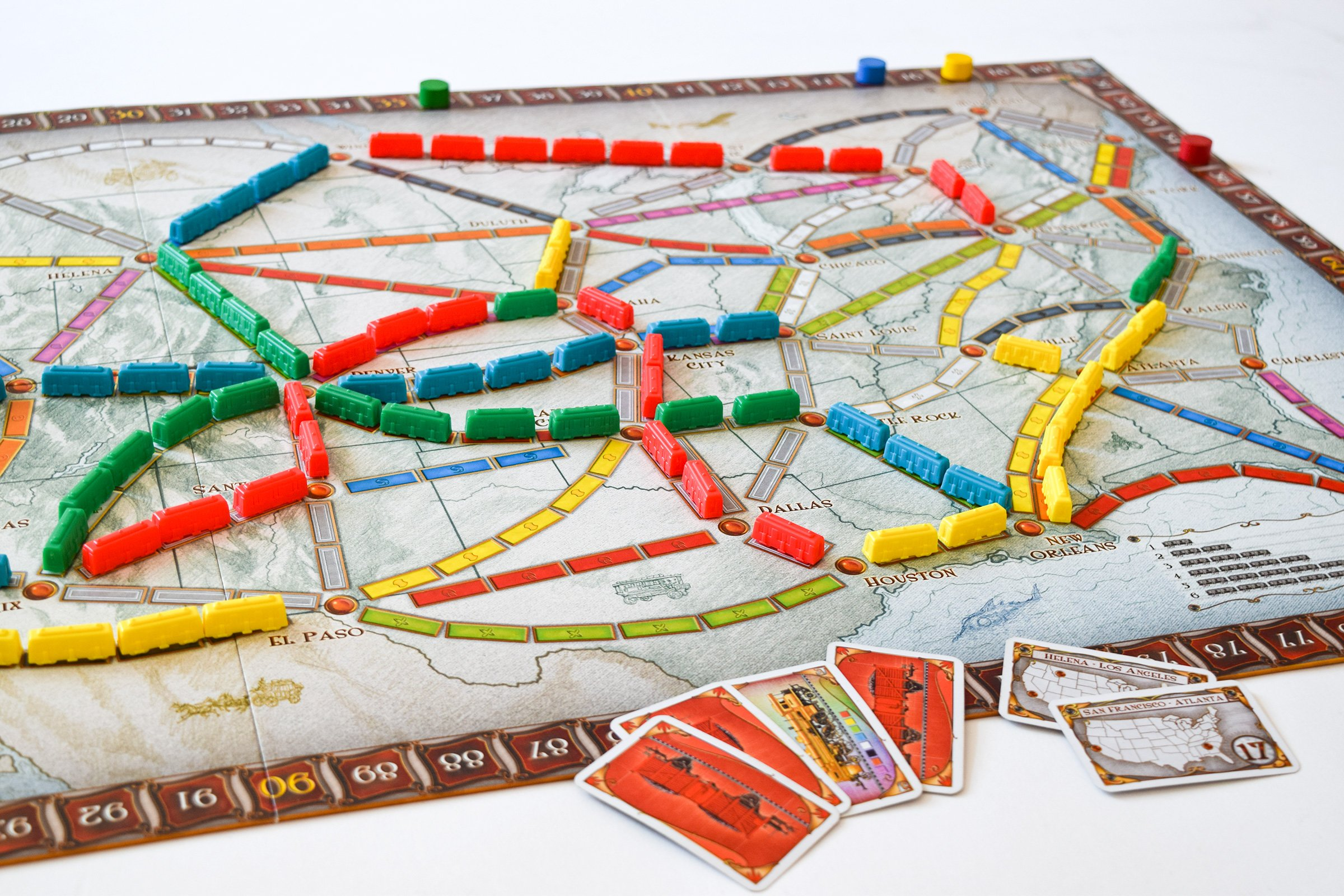 10 Board Games To Play With Friends & Family | Ticket To Ride | Little House On The Corner