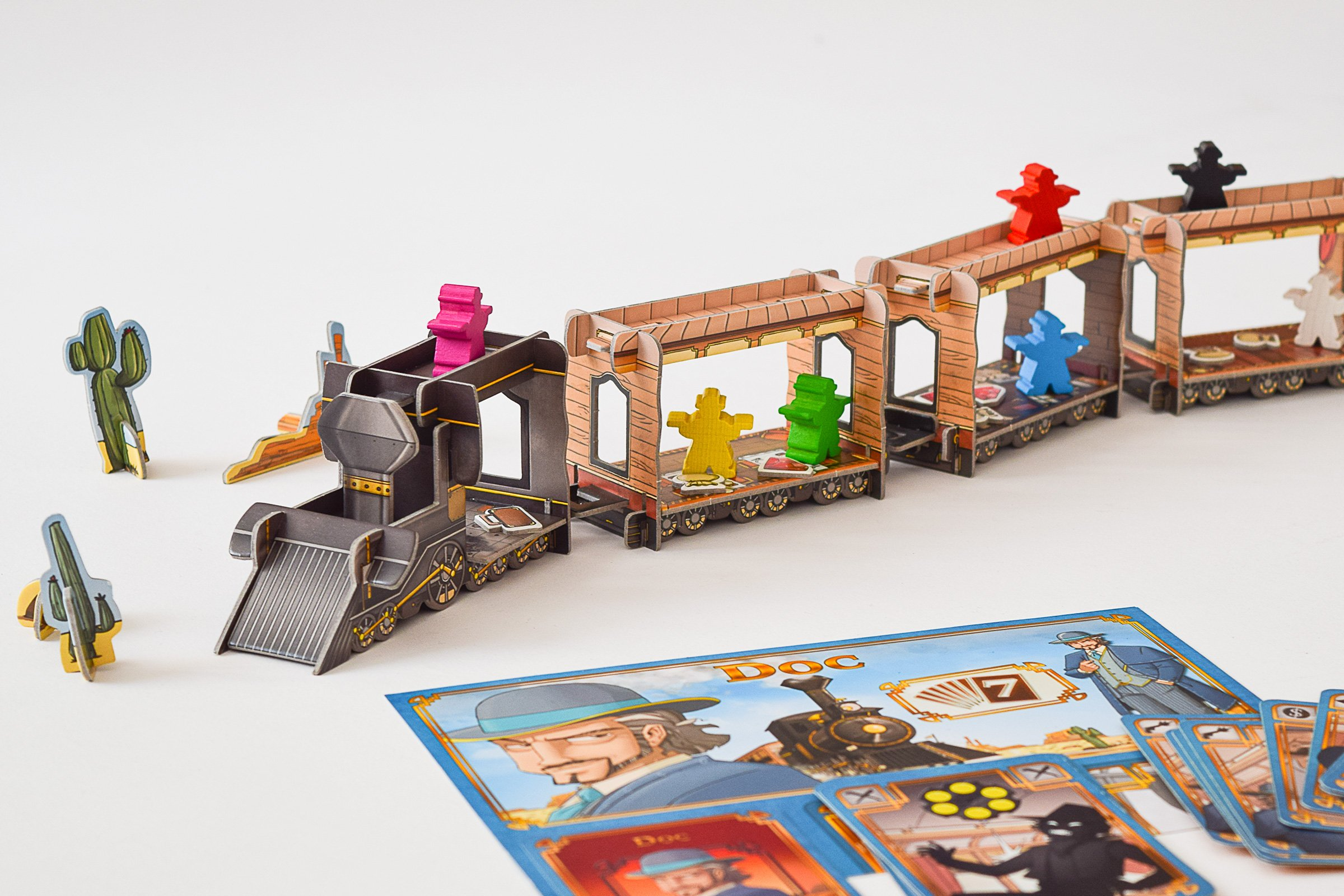 10 Board Games To Play With Friends & Family | Colt Express | Little House On The Corner