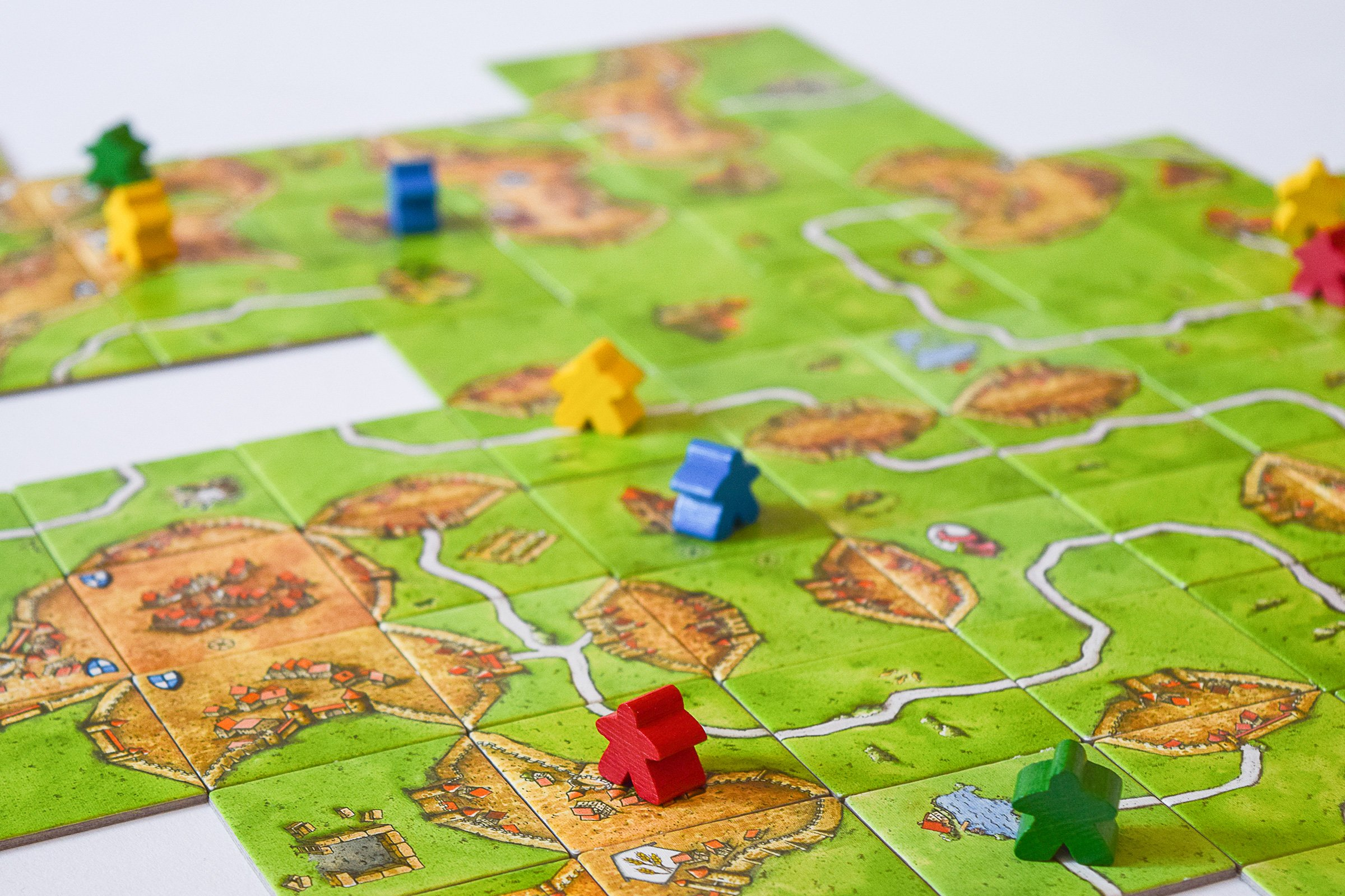 10 Board Games To Play With Friends & Family | Carcassonne | Little House On The Corner